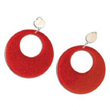 Mod Earrings (Red)